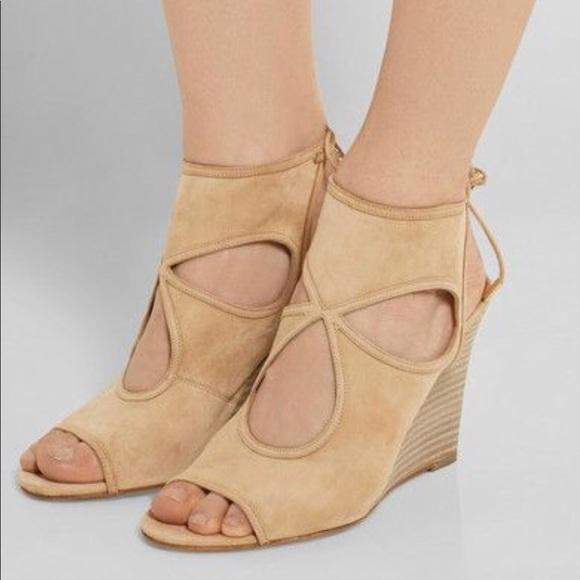 1093fbcaad1 Aquazzura Shoes - Aquazzura sexy thing wedges 38
